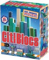 Green Baby CitiBlocs Cool Colors Building Set (200 pcs)