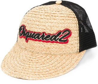 DSQUARED2 Embroidered Mesh-Panel Cap