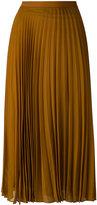Maison Margiela pleated midi skirt - women - Silk/Polyamide/Acetate/Viscose - 44