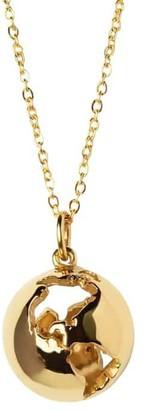 Cristina Ramella World Globe Pendant Necklace