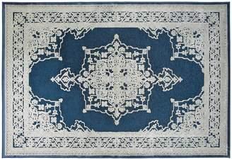 Apt2B Lumet Area Rug PEACOCK BLUE/IVORY