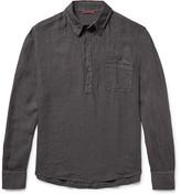 Barena Half-Placket Linen Shirt
