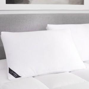 J Queen New York Regency 300 Thread Count Cotton Sateen allergen Barrier Down Alternative Pillow - King - Medium