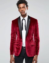 Mens Burgundy Blazer | Fashion Ql