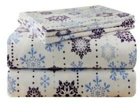 Pointehaven Luxury Weight Flannel Sheet Set King Bedding