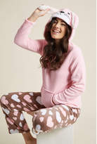 ModCloth Come On Get Hoppy Pajamas in Hearts in M - Sleep Set Long