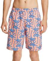 Vineyard Vines Bungalow Flamingo Print Swim Trunks - 100% Bloomingdale's Exclusive