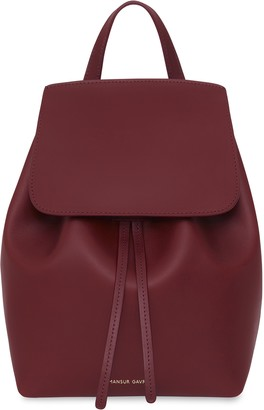 Mansur Gavriel Bordo Mini Backpack - Bordo