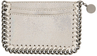 Stella McCartney Off-White Falabella Card Holder