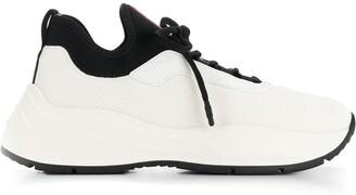 Prada Lace-Up Sneakers