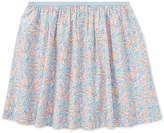 Polo Ralph Lauren Floral Pull-On Cotton Skirt, Big Girls