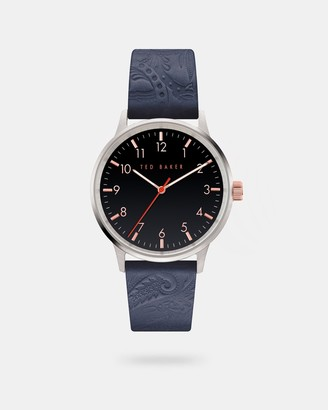 Ted Baker COSMOOA Leather strap watch