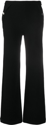 Boutique Moschino Ribbed Knit Trousers
