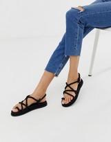 Asos Design DESIGN Foxx premium chunky rope sandals