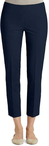 Lafayette 148 New York Jodhpur Cloth Cropped Lexington Pants