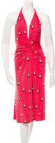 Issa Silk Halter Dress