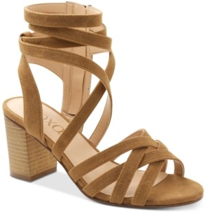 XOXO Eden Block-Heel Dress Sandals Women's Shoes