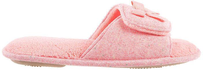 Speckled Knit Slide Slip-On Slippers