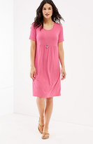 J. Jill Scoop-Neck Knit Dress