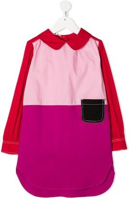 Marni Colour Block Shirt Dress