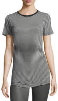 AG Jeans Striped Crewneck Short-Sleeve Boy Tee