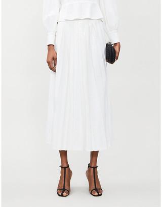 Olivia Rubin Esme sequinned midi skirt