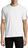 Zegna Sport Techmerino Jersey Short-Sleeve T-Shirt, White
