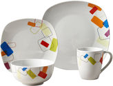 Asstd National Brand Soho 16-pc. Porcelain Dinnerware Set