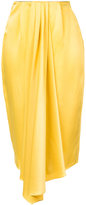 Tome draped pleated skirt - women - Acetate - XS