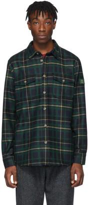 Woolrich Aime Leon Dore Green Edition Plaid Shirt