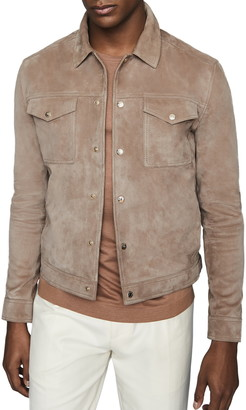 Reiss Jagger Leather Jacket