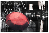 Oliver Gal Under the Red Umbrella (Canvas)