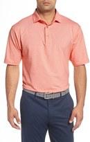 Bobby Jones Men's 'Liquid Cotton Skyline' Stripe Jersey Golf Polo