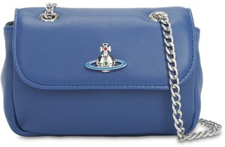 Vivienne Westwood DERBY MINI LEATHER SHOULDER BAG