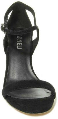 VANELi Berk Ankle Strap Slim Heel Sandal - Wide Width Available