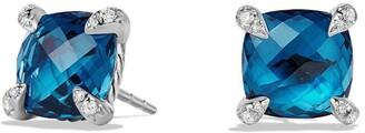 David Yurman Chatelaine Earrings with Semiprecious Stones and Diamonds