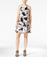 BCBGeneration Printed Fit & Flare Dress