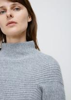 Oyuna Soft Grey Cashmere Chunky Knit