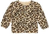 Gymboree Gem Button Leopard Sweater Cardigan