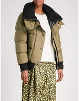 Burberry Greenlaw quilted cotton down jacket