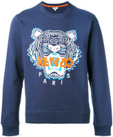 Kenzo tiger print sweatshirt - men - Cotton/Spandex/Elastane - S