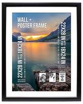 """B.P. Industries Poster Frame 1.5"""" Profile - Black - (22""""x28"""" Matted to 18""""x24"""")"""
