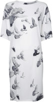 A.F.Vandevorst bird printed dress - women - Silk/Spandex/Elastane - S