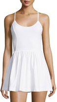 French Connection Double Layered Sleeveless Short Jumpsuit, White