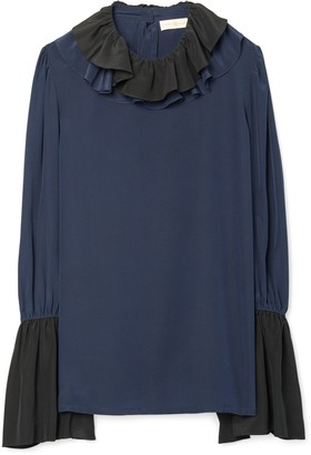 Tory Burch Ruffle Blouse