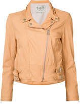 Sea zipped jacket - women - Lamb Skin - XS