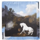 Stella McCartney Women's Stubbs Horse Silk Scarf