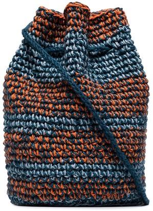 Nicholas Daley Knitted Bucket Bag