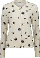 Arpeggio Knitwear Women's Cardigans White - White Daisy Button-Up Cardigan - Women