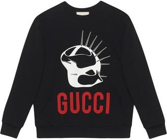 Gucci Manifesto oversized sweatshirt